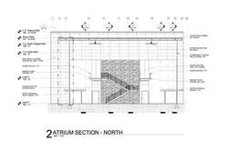 SMFD North Wall_Atrium Section_SMFR Preparedness Building
