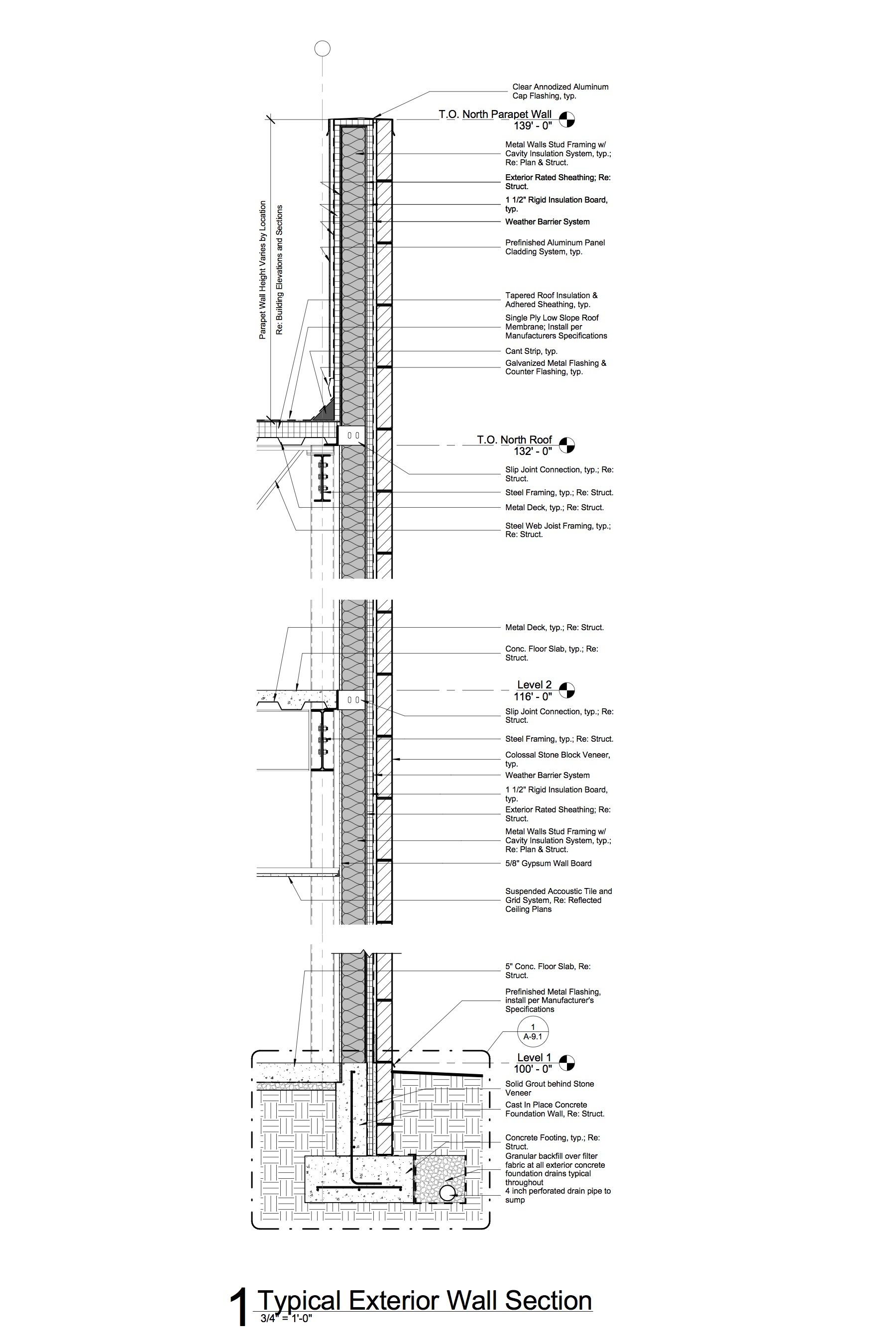 SMFD Wall Section_SMFR Preparedness Building