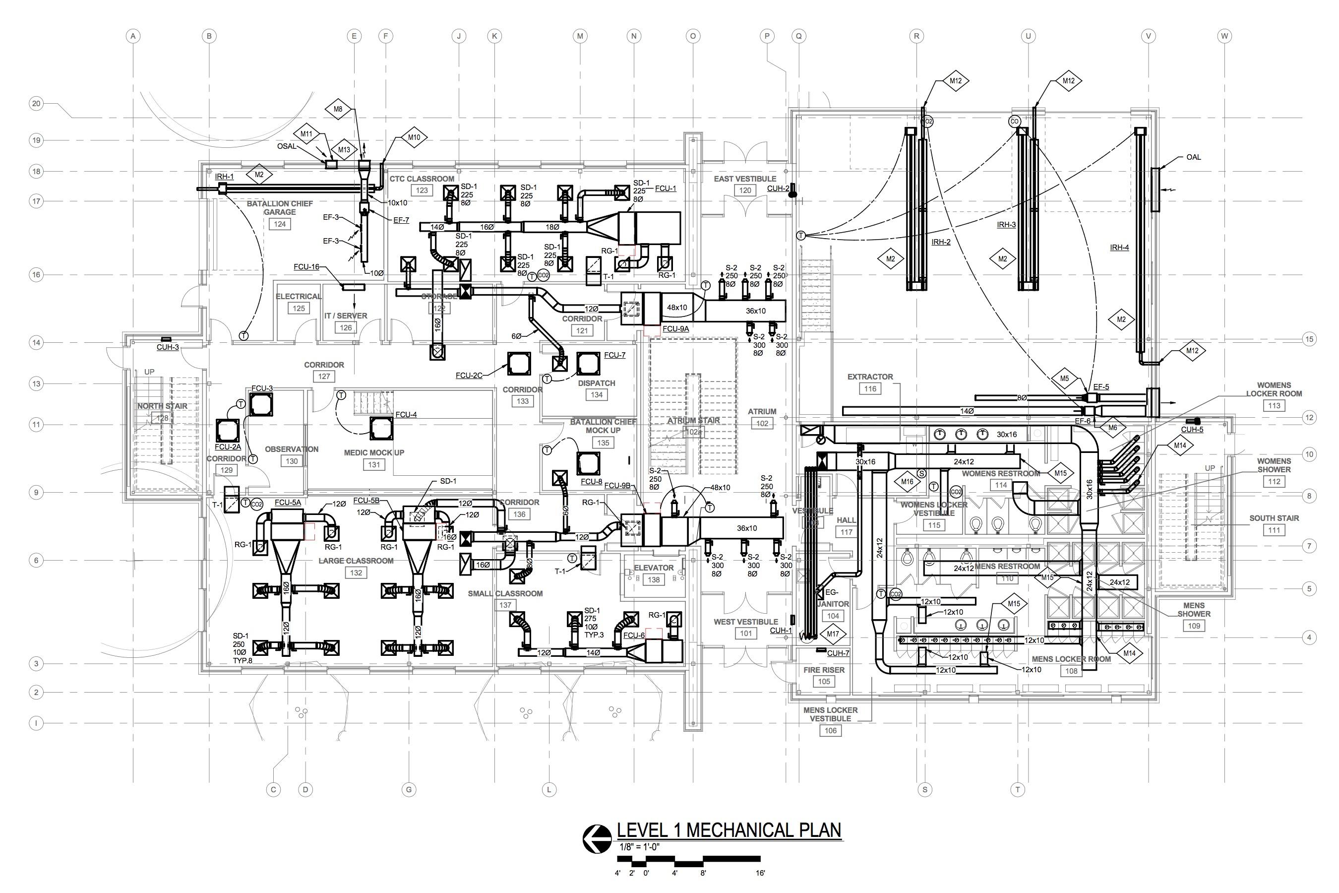 SMFD Level 1 Mech Plan_SMFR Preparedness Building