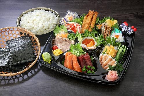 手巻き寿司セット 1人前(大人用)