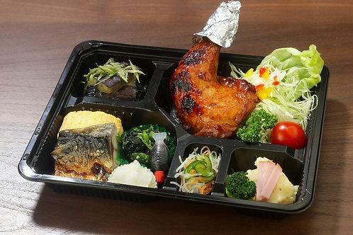 【おかず】ローストチキン&焼き魚