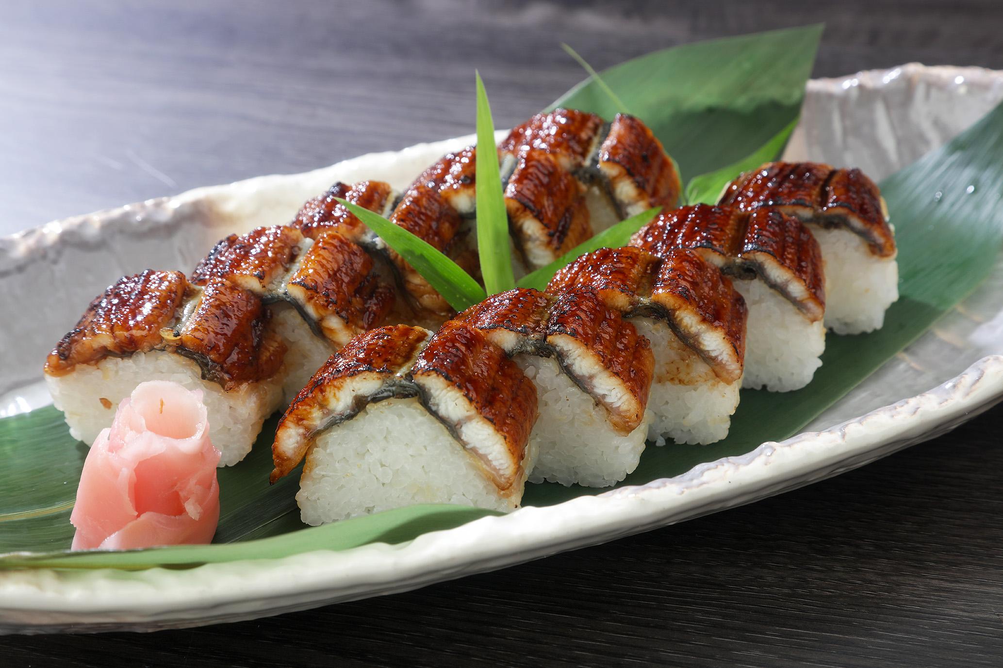うなぎ棒寿司01(メ)
