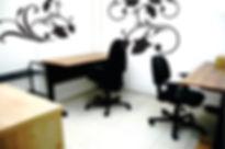 Sala em coworking