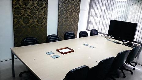 sala de reuniões coworking