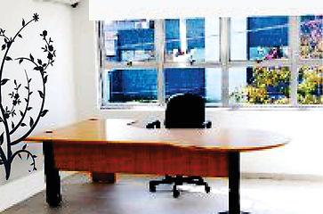 salas para locação em coworking