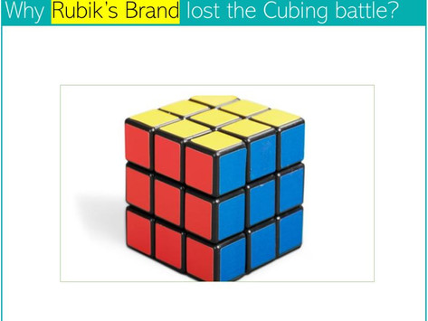 Rubik's cube - a fading phenomenon?