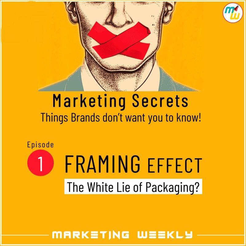 Framing effect - the white lie of packaging
