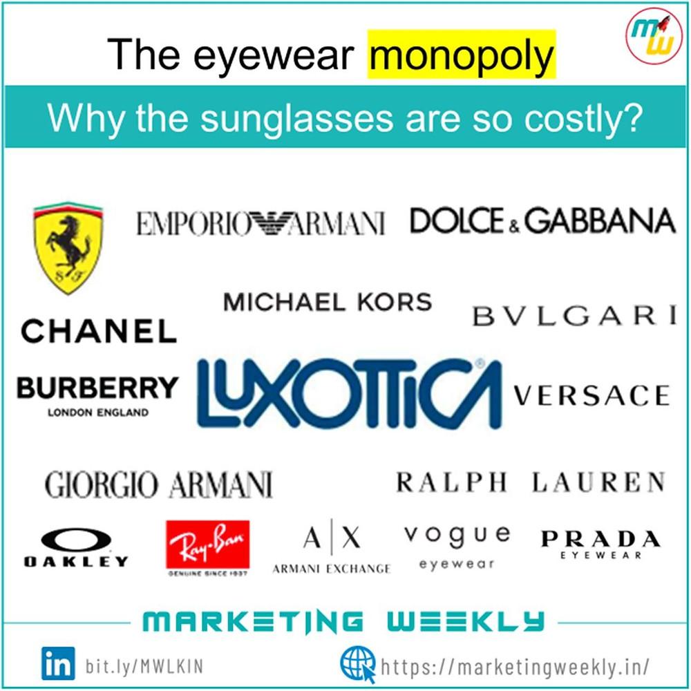 The eyewear monopoly