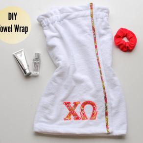 DIY Wrap Towel