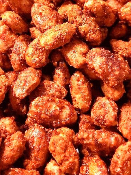 Sweet Cayenne Almonds