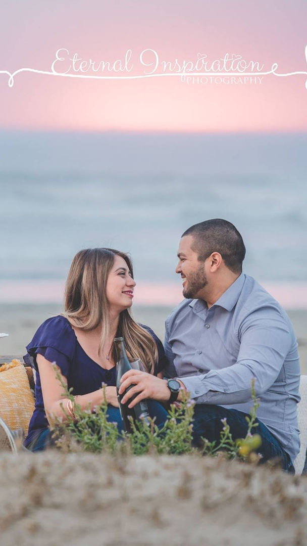 Morro Bay engagement photo