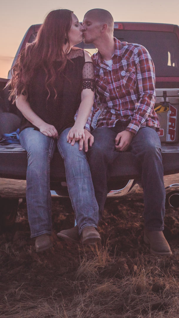 Ford Truck Tailgate Engagement photo