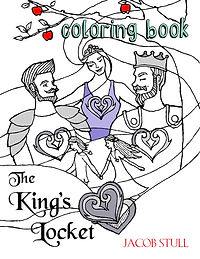 The King's Locket Coloring Book