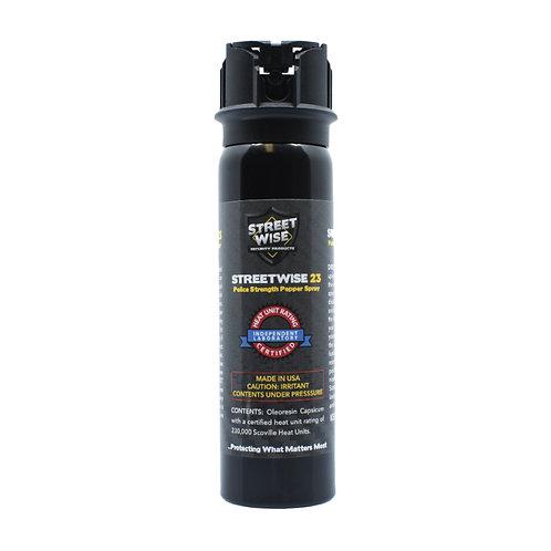 Police Force 23 4 oz Flip Top Pepper Spray