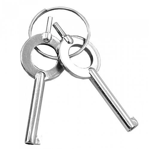 Pair of Extra Handcuff Keys