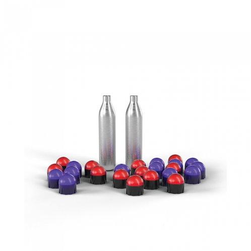 PepperBall TCP VXR Refill Kit w/CO2 Cartridges