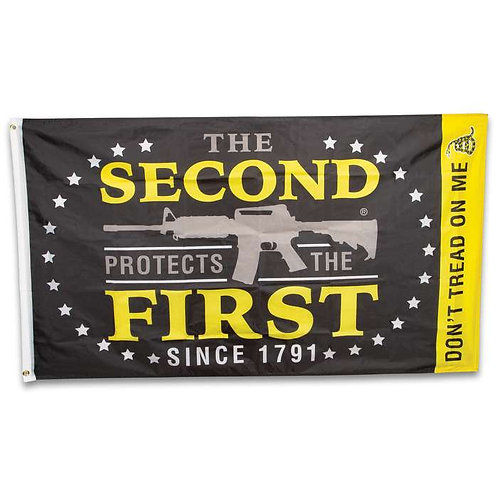 The Second Protects The First Flag