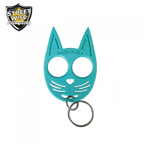 Streetwise My Kitty Self-Defense Keychain Light Blue