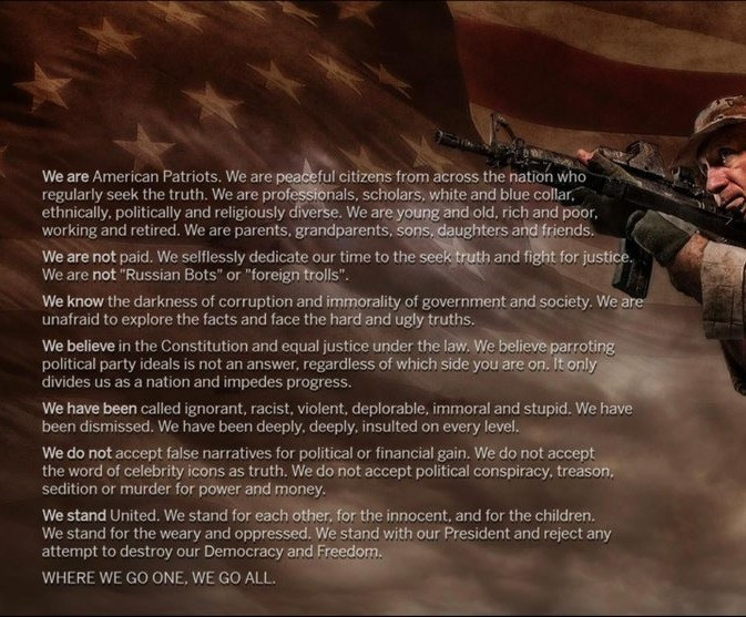 Are you an American Patriot? Are you a SheepDog?