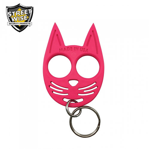 Streetwise My Kitty Self-Defense Keychain Hot Pink