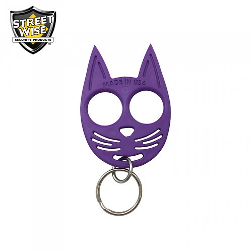 Streetwise My Kitty Self-Defense Keychain Purple