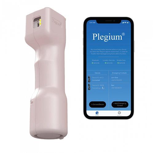Plegium Smart (5 in 1) Pepper Spray w/Free App PINK