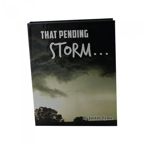Hand Gun Hider Book Safe-Pending Storm SM