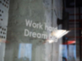 Canva - Work Hard Dream Big Writing On G