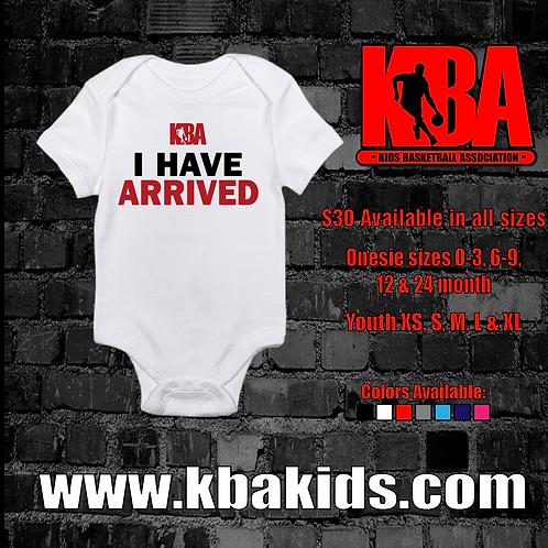 KBA-Kids Basketball Association Onesie