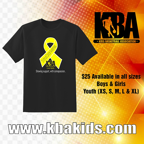 KBA Childhood Cancer Awareness T-Shirt
