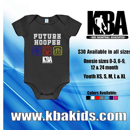 KBA-Kids Basketball Association Onesie