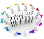 Word of mouth or viva voce, is the passing of information from person to person by oral communication, which could be as simple as telling someone the time of day. Storytelling is a common form of word-of-mouth communication where one person tells others a story about a real event or something made up.