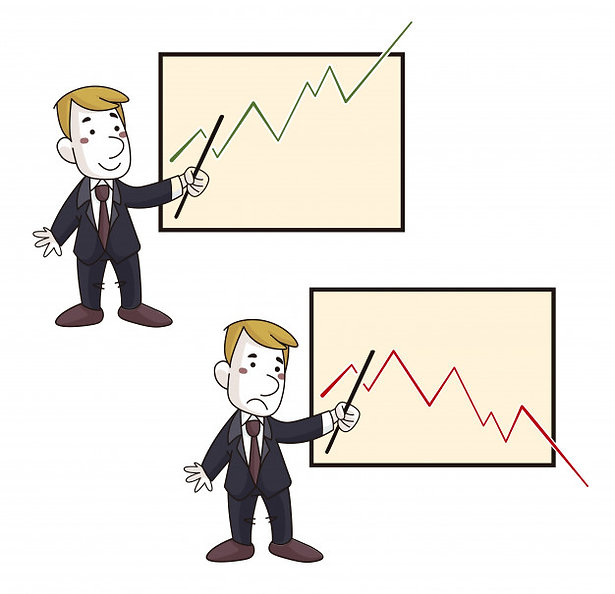 esecutivo-con-grafico-positivo-e-negativ