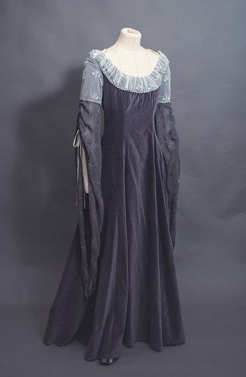 Arwen Elven Velvet Gown