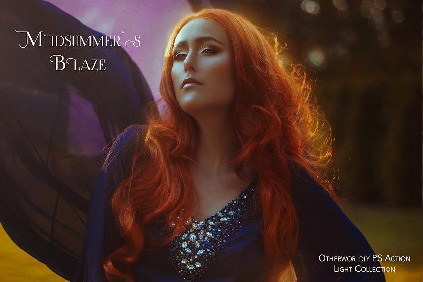 Midsummer's Blaze - Otherworldly Action