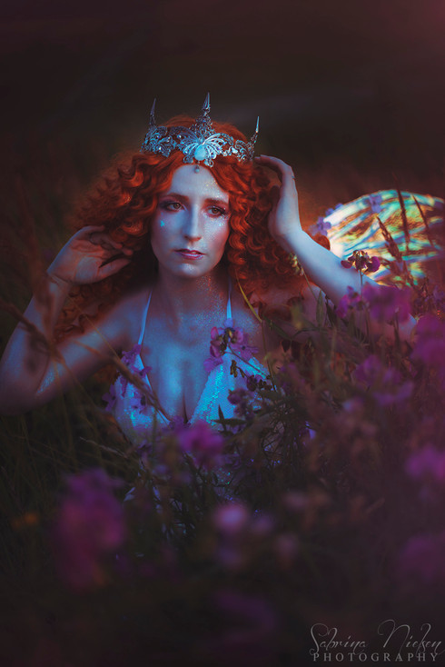 Model: Nadja S. Jensen Crown: Plussoyance Créations