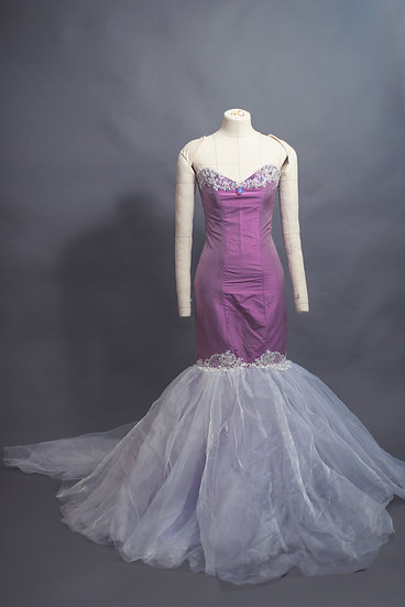 Silk Mermaid Gown