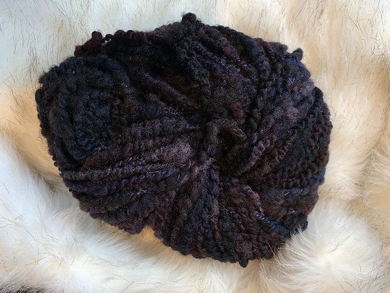 Textured funky yarn