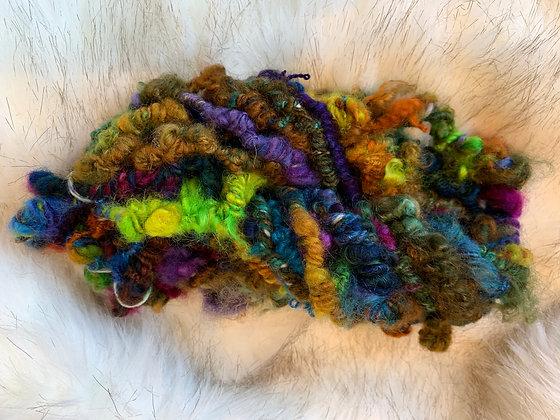 Bright, funky yarn
