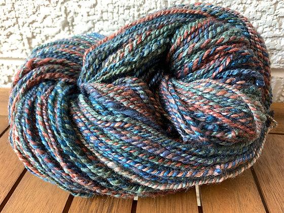 Merino and silk yarn