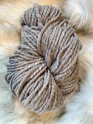 Natural coloured yarn