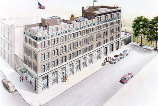 NYC Outward Bound Rendering