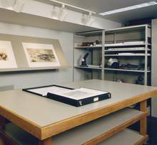 Parrish Art Museum Storage Detail