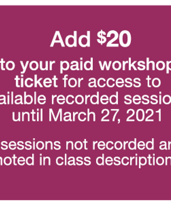 ADD 2 Week Access to Class Recordings