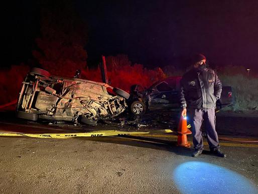 Siniestro de tránsito fatal en Ruta 27