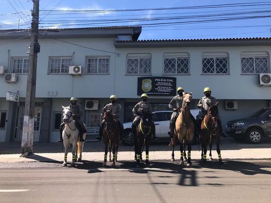 Brigada Militar realiza prisão de homem na Linha Divisória