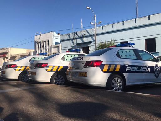 Jefatura de Rivera cuenta con tres nuevos vehículos patrulleros