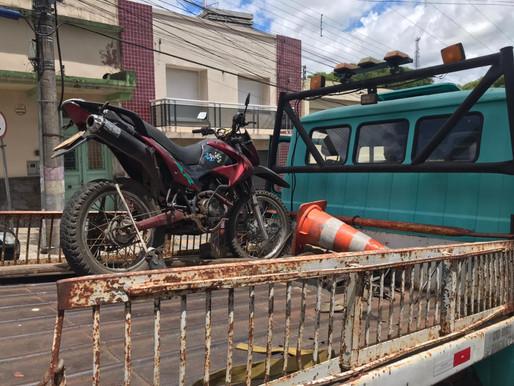 BM recupera moto uruguaia roubada em 2015