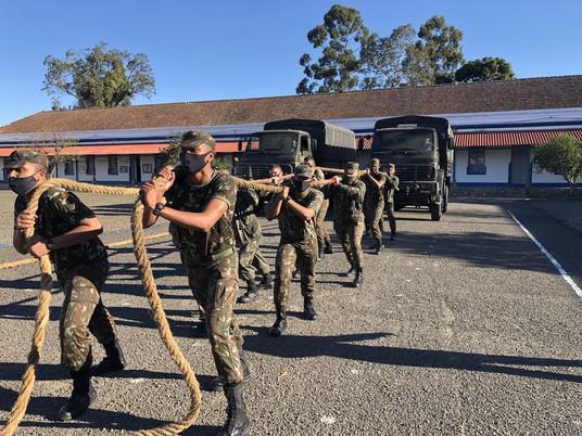 Semana do Soldado é celebrada com diversas atividades na 2ª Bateria de Artilharia Antiaérea