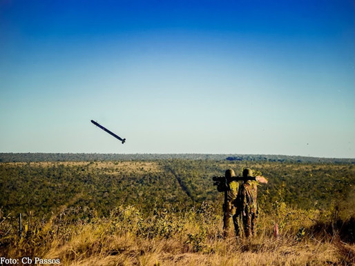 2ª Bateria de Artilharia Antiaérea realiza tiro real com o Míssil RBS70 na Operação Sagitta Primus